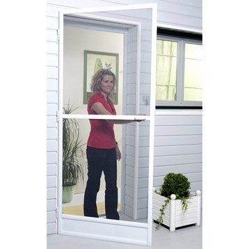 Moustiquaire pour porte-fenêtre à enroulement vertical MOUSTIKIT H.240 x l.100cm