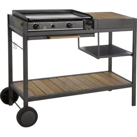 plancha au gaz naterial cuisine module resort leroy merlin. Black Bedroom Furniture Sets. Home Design Ideas