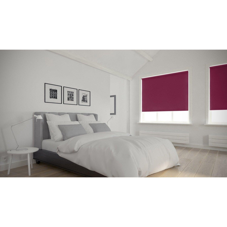 store enrouleur occultant 5784 inspire violet aubergine n 1 75x250 cm leroy merlin. Black Bedroom Furniture Sets. Home Design Ideas