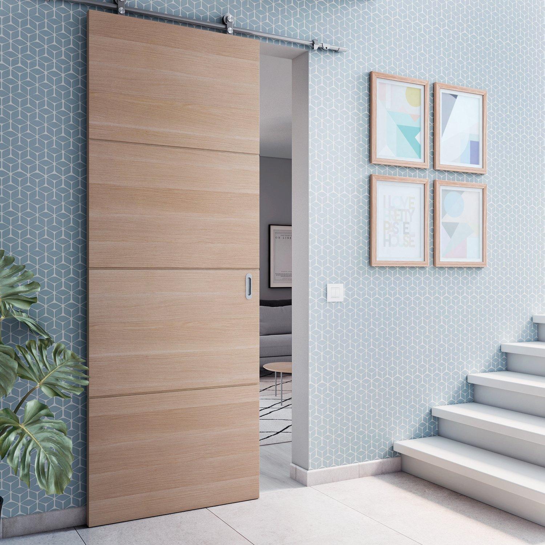 Un espace plus fonctionnel avec une porte coulissante en - Prix d une porte coulissante scrigno ...