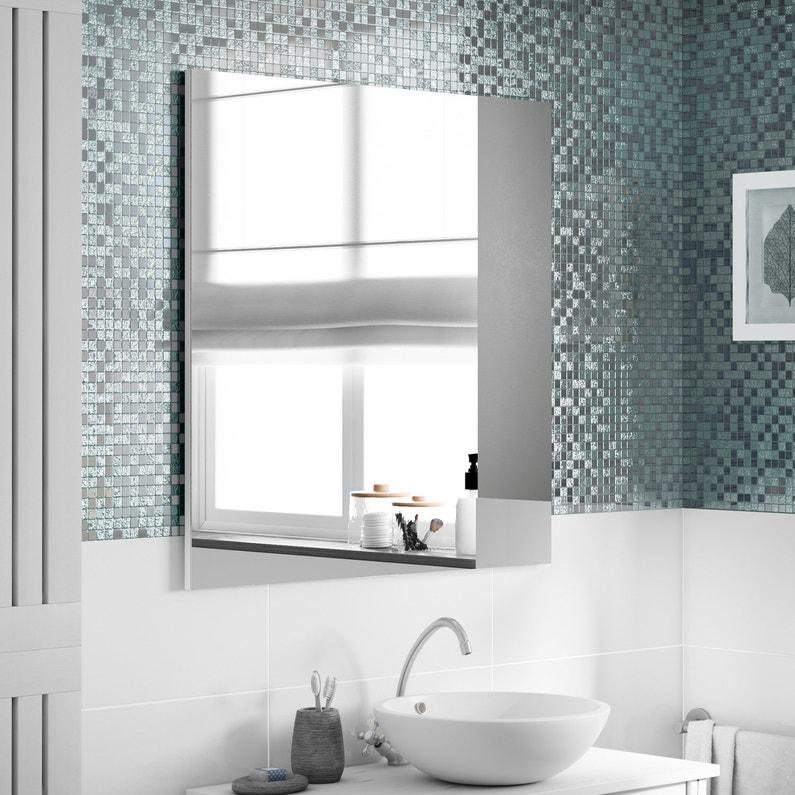 embellir sa salle de bain avec un carrelage mosa que gris argent leroy merlin. Black Bedroom Furniture Sets. Home Design Ideas