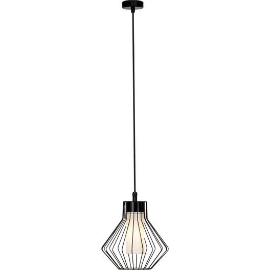 suspension ext rieure dalmext e27 60 w noir brilliant leroy merlin. Black Bedroom Furniture Sets. Home Design Ideas