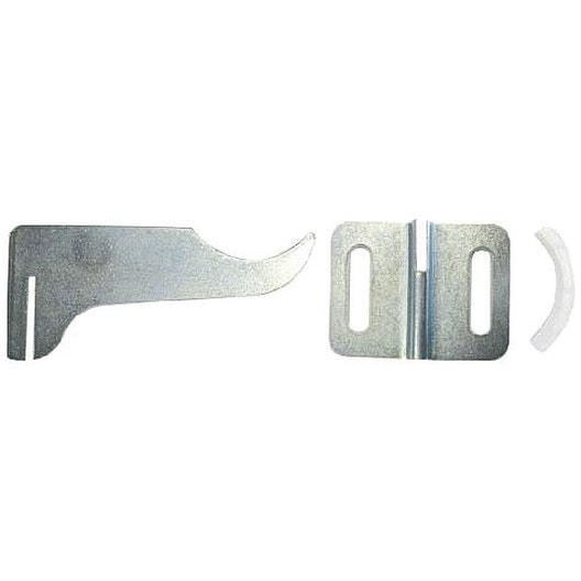 kit de fixation en acier galvanis nickel hammel - Radiateur Electrique Chambre 12m2