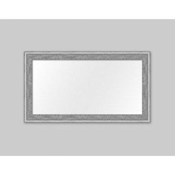 Miroir Pente, argent, l.60 x H.120 cm