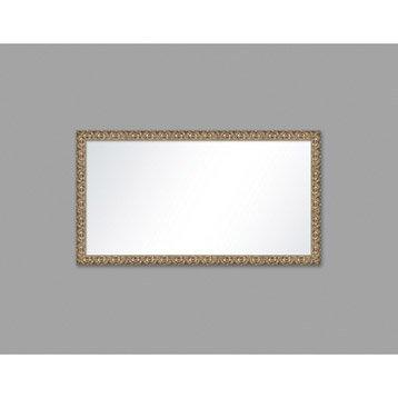 Miroir Frise, argent, l.50 x H.100 cm