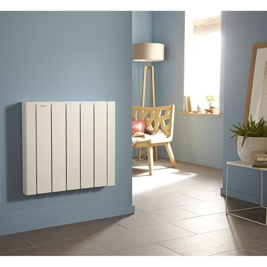 radiateur lectrique inertie fluide acova mohair lcd 2000 w leroy merlin. Black Bedroom Furniture Sets. Home Design Ideas