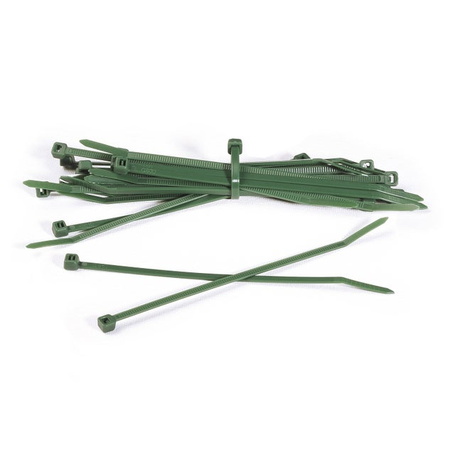 Lot De 50 Attaches Vert Brise Vue Naterial