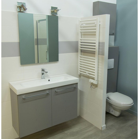 Poser une porte de douche des robinets un s che serviette 3h leroy merlin - Poser une porte de service ...