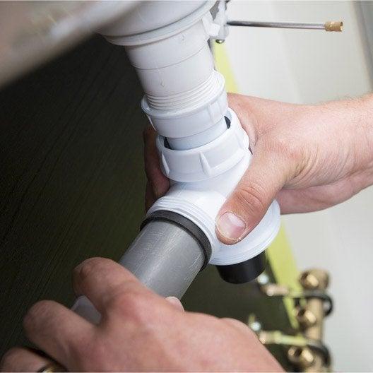 réparer une fuite d'eau et déboucher son évier (1h30 - 2h) | leroy ... - Comment Deboucher Un Lavabo De Salle De Bain