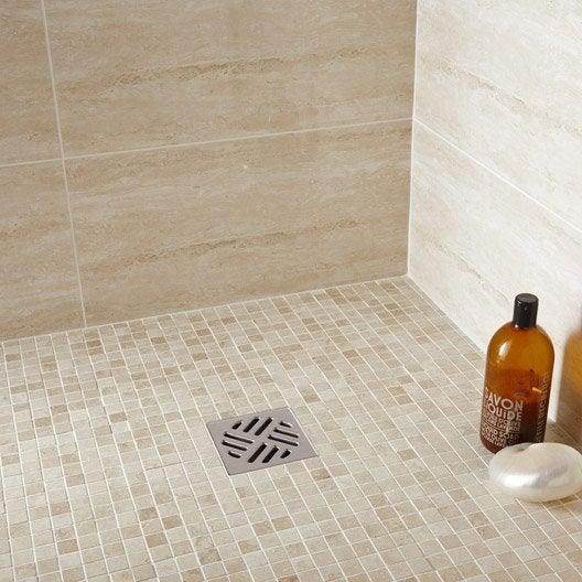 mosa que sol et mur mineral travertin ivoire leroy merlin. Black Bedroom Furniture Sets. Home Design Ideas