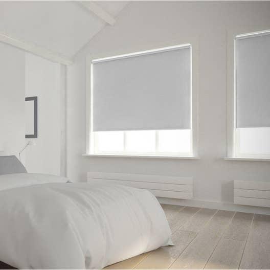 Store enrouleur occultant 5715 INSPIRE, blanc blanc n°0, 55x160 cm ...