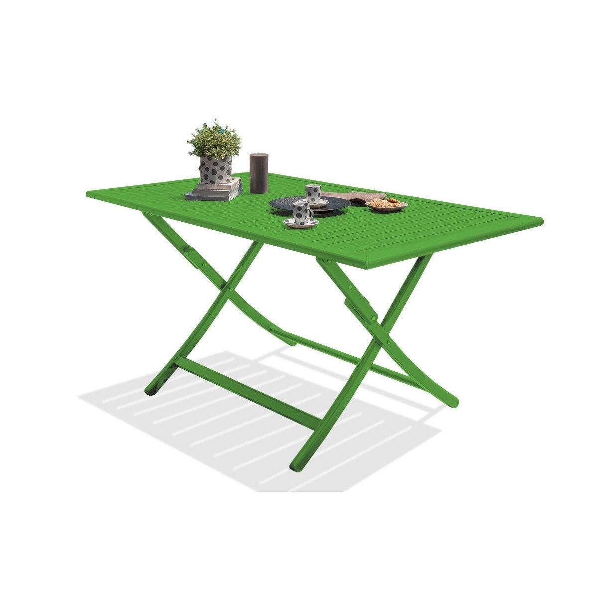 Table Meilleur PrixLeroy AluminiumBoisRésine Jardin Merlin Au De WEH9YDI2