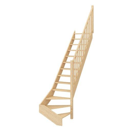 escalier demi tournant leroy merlin escalier demi