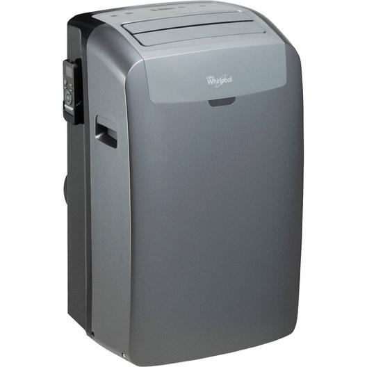 363306631f0b3f Climatiseur mobile réversible WHIRLPOOL Pacb12hp 3500 W   Leroy Merlin