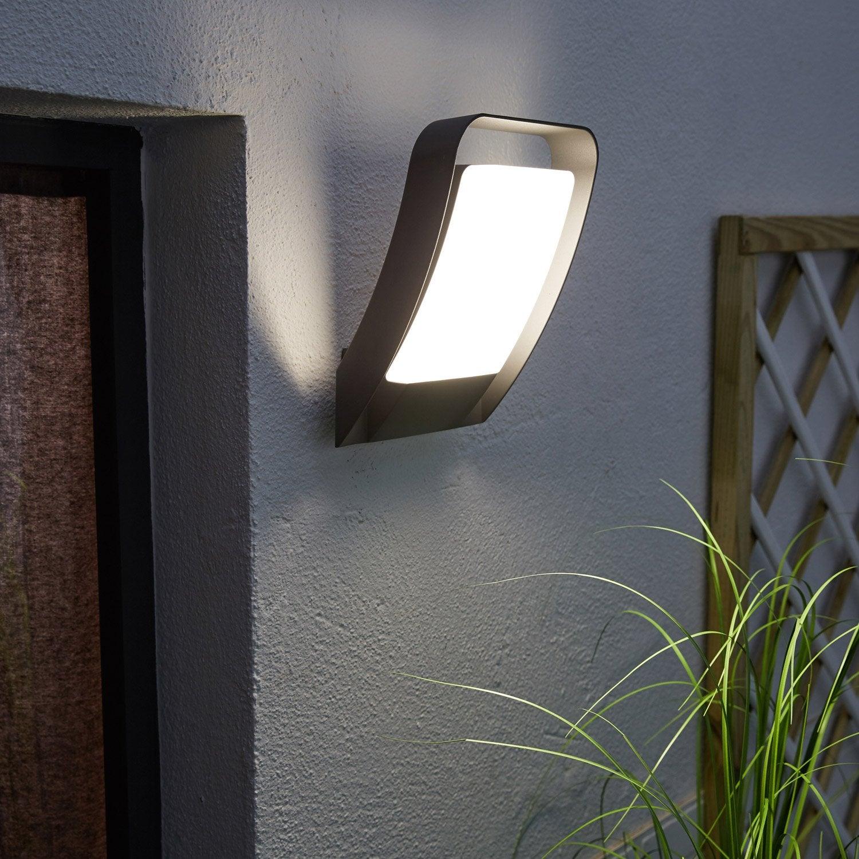 Applique Extérieure LED Intégrée 1600 Lumen Gris Hosford INSPIRE