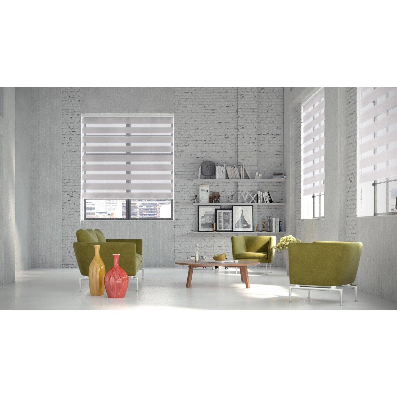 store enrouleur jour nuit navy gris clair 37 40 x 160 cm store enrouleur jour nuit. Black Bedroom Furniture Sets. Home Design Ideas