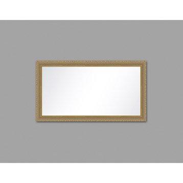 Miroir Canaux, or, l.60 x H.120 cm