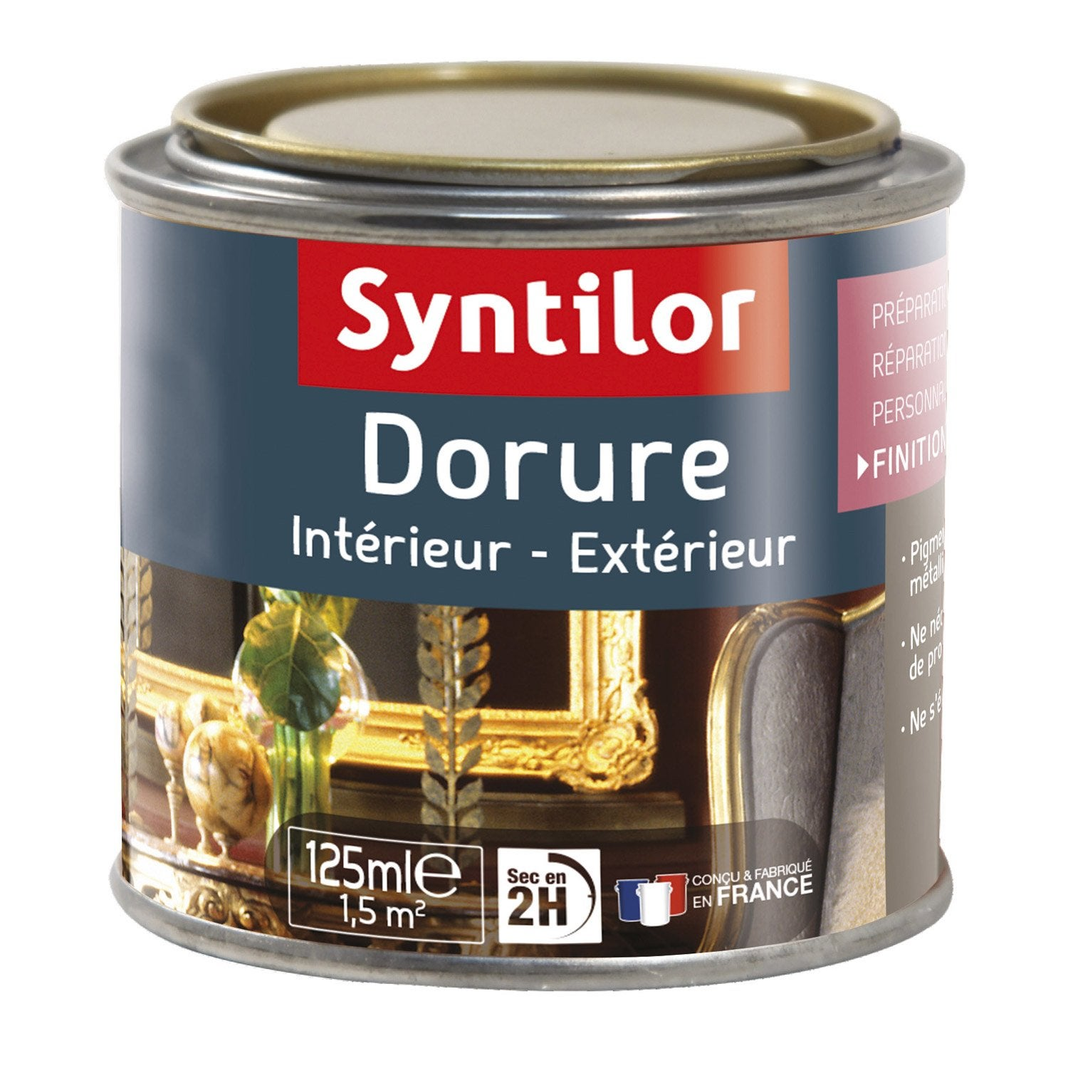 merveilleux Dorure, pailleté, SYNTILOR, or riche 0.125 l