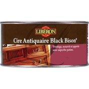 Cire en pâte meuble et objets Cire black bison LIBERON, 0.5 l, chêne foncé