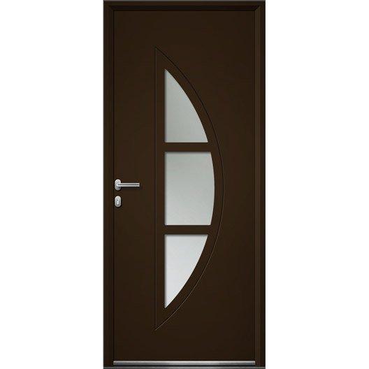 Porte d 39 entr e sur mesure en aluminium omaha artens - Porte entree alu leroy merlin ...