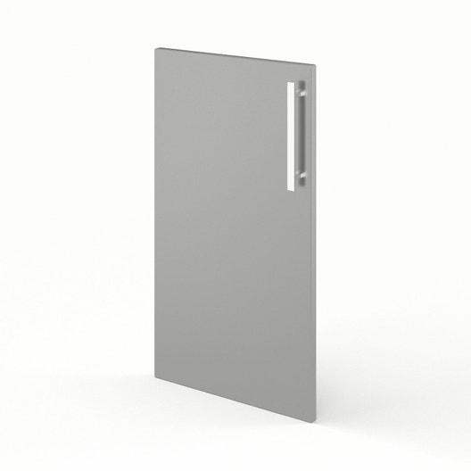 Porte de cuisine gris Délice, L.40 x H.70 cm | Leroy Merlin on