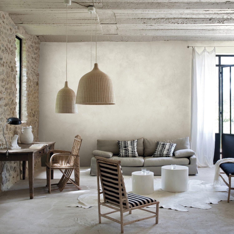 De La Cire Murale Teinte Bois Blanc Pour Vos Murs Leroy Merlin
