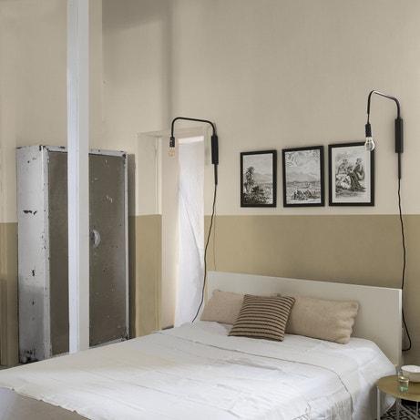Décorer une chambre avec une peinture effet chaux