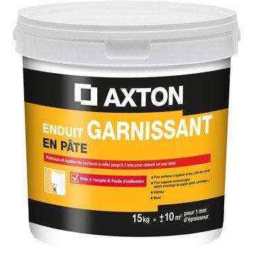 Enduit de rénovation et garnissant pâte blanc AXTON, 15 kg