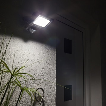 projecteur dtection extrieur yonkers led intgre 20 w 1800 lm inspire - Eclairage Jardin