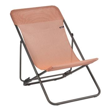 Transat de jardin, chaise chilienne au meilleur prix | Leroy Merlin