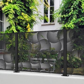Cloture Aluminium Couvertine Au Meilleur Prix Leroy Merlin
