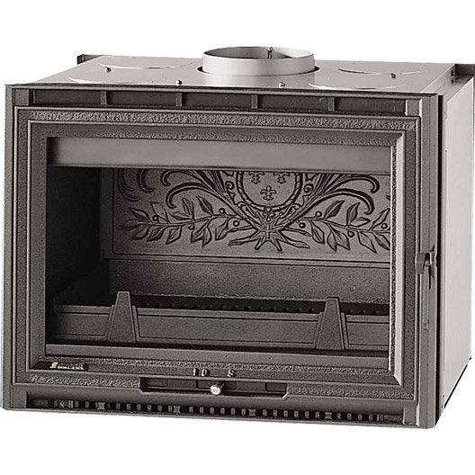 insert bois fa ade droite supra tertio 67 9 kw leroy merlin. Black Bedroom Furniture Sets. Home Design Ideas
