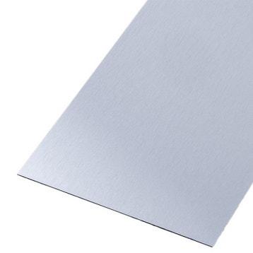 T le t le aluminium acier inox perfor e au meilleur for Tole inox brosse