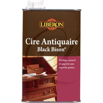 Cire liquide meuble et objets Cire black bison LIBERON, 0.5 l, incolore