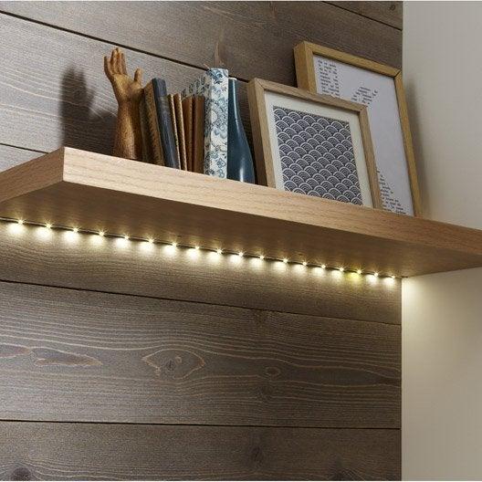 kit ruban led 1m multicolore flexled inspire leroy merlin. Black Bedroom Furniture Sets. Home Design Ideas