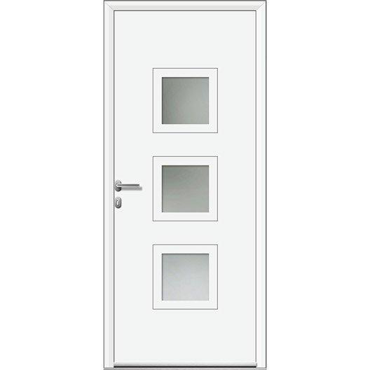 porte d 39 entr e sur mesure en aluminium phenix artens leroy merlin. Black Bedroom Furniture Sets. Home Design Ideas