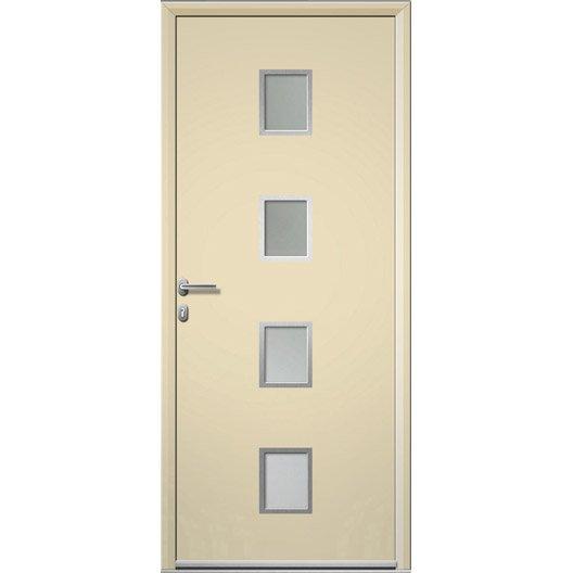 porte d 39 entr e sur mesure en aluminium baltimore artens leroy merlin. Black Bedroom Furniture Sets. Home Design Ideas