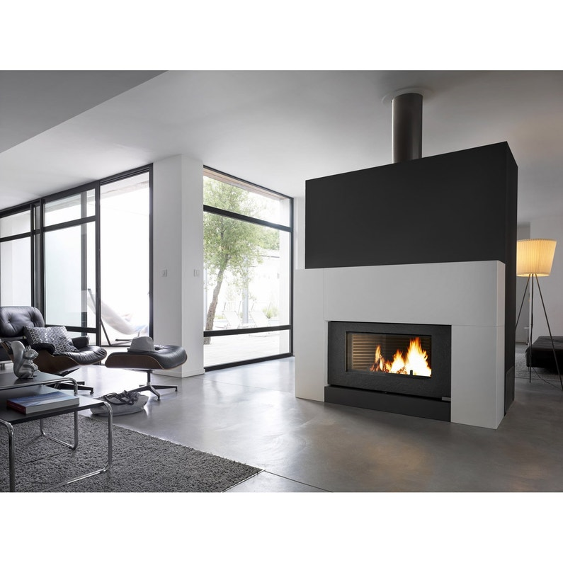 po le bois invicta chemin e onyx 6120 46 12 kw leroy. Black Bedroom Furniture Sets. Home Design Ideas