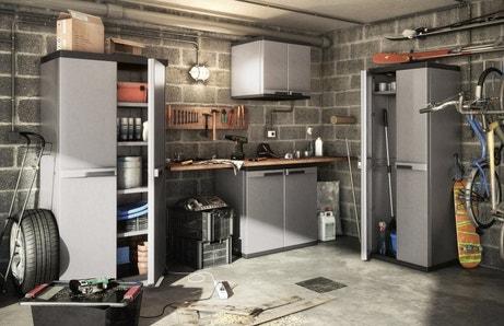 Des armoires pour organiser l'atelier et le garage