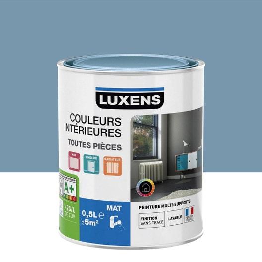 peinture bleu baltique 3 mat luxens couleurs intrieures mat 05 l