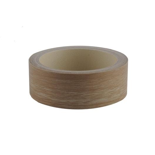 bande de chant thermocollante ch ne naturel spaceo x l 3 4 cm leroy merlin. Black Bedroom Furniture Sets. Home Design Ideas