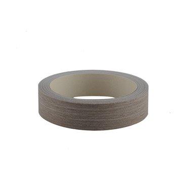 Bande de chant thermocollante bois scié gris doré AERO, L.500 x l.2.3 cm
