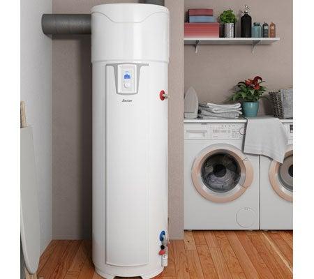chauffe eau thermodynamique connect sauter pagosa 270 l leroy merlin. Black Bedroom Furniture Sets. Home Design Ideas
