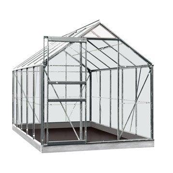 Serre de jardin en polycarbonate simple paroi Rainbow, 6.2 m²