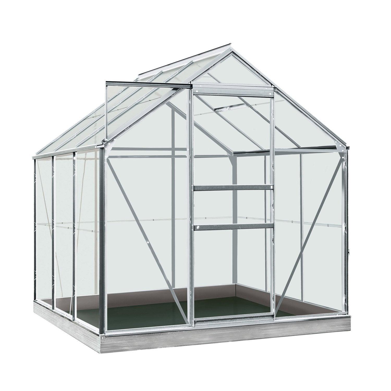 serre de jardin en polycarbonate simple paroi rainbow m leroy merlin. Black Bedroom Furniture Sets. Home Design Ideas