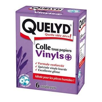 Colle papier peint vinyle QUELYD, 0.3 kg