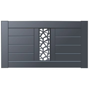 Clôture - Clôture aluminium, fer, bois, PVC | Leroy Merlin