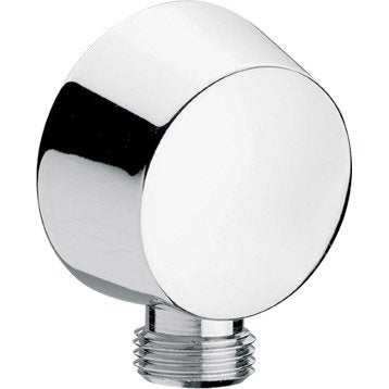 Raccord d'angle mural rond