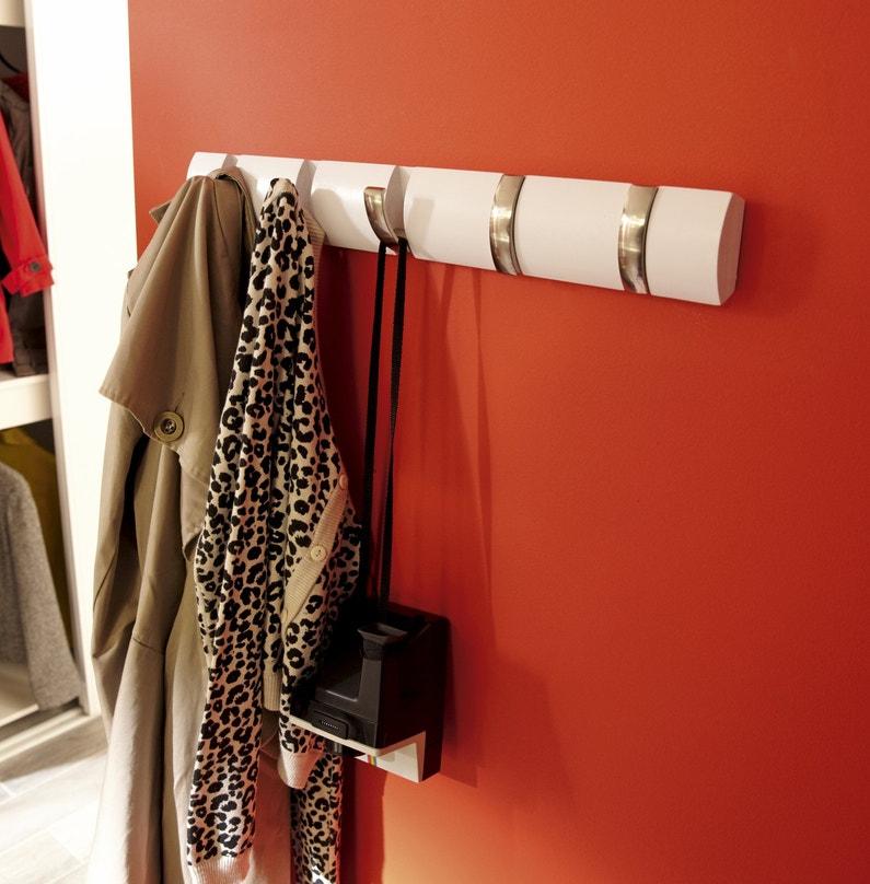 un porte manteau design pour l 39 entr e leroy merlin. Black Bedroom Furniture Sets. Home Design Ideas