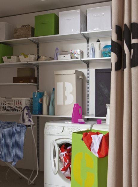 votre buanderie s 39 organise leroy merlin. Black Bedroom Furniture Sets. Home Design Ideas